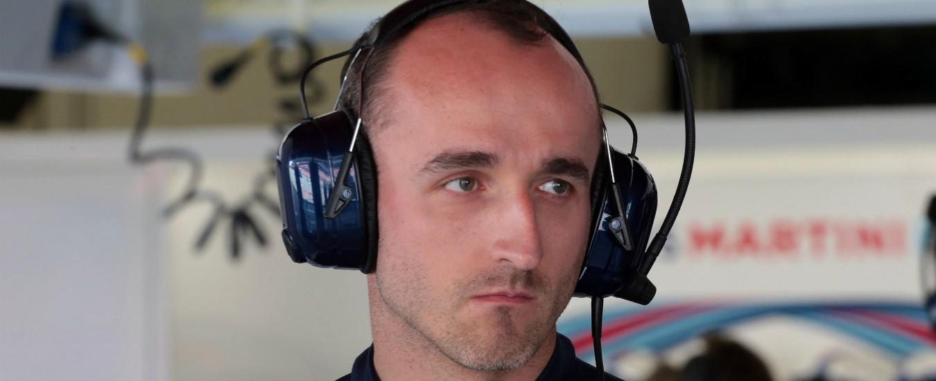 Formula Uno, dopo otto anni torna Robert Kubica. Correrà con la Williams per un anno