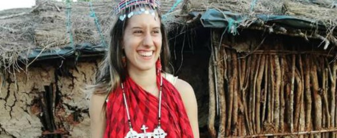 """Silvia in Kenya """"ragazzina incosciente""""? No, col suo sorriso ci insegna la speranza"""