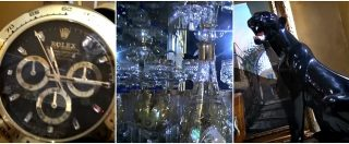 Casamonica, dentro la villetta del clan tra pomelli in Swarovski, doccia emozionale e televisore 90 pollici