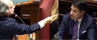 """Manovra, lo show di Brunetta in Aula contro Conte: """"Azzeccagarbugli. Sorrida pure, Crozza avrà un'imitazione in più"""""""