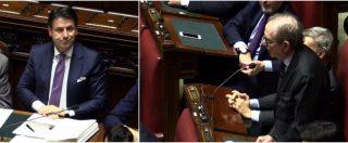 """Manovra, la critica di Padoan al discorso di Conte: """"Non ha parlato della procedura di infrazione. Risparmi in pericolo"""""""
