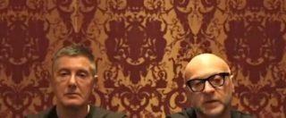 """Dolce&Gabbana e lo spot in Cina, dopo la bufera la coppia si scusa: """"Amiamo la vostra cultura"""" [VIDEO]"""