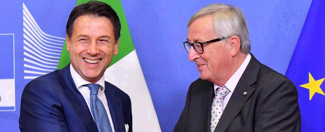 """Legge di Bilancio, l'Italia e l'Ue trattano. Juncker: """"Avviciniamo posizioni"""". Conte: """"Abbassiamo i toni, ma nessuna rinuncia"""""""