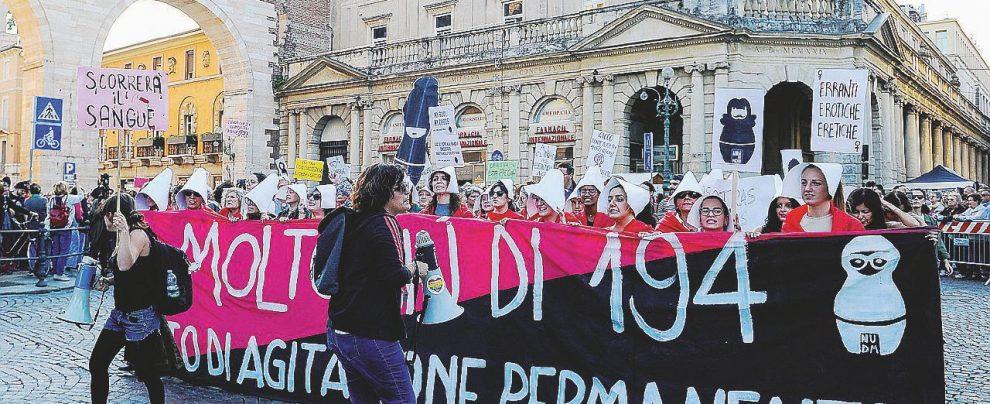 Verona, donne in piazza contro la Vandea di FN