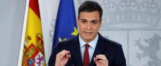 """Spagna, l'annuncio di Pedro Sanchez: """"Dal 2019 il salario minimo aumenta del 22%"""""""