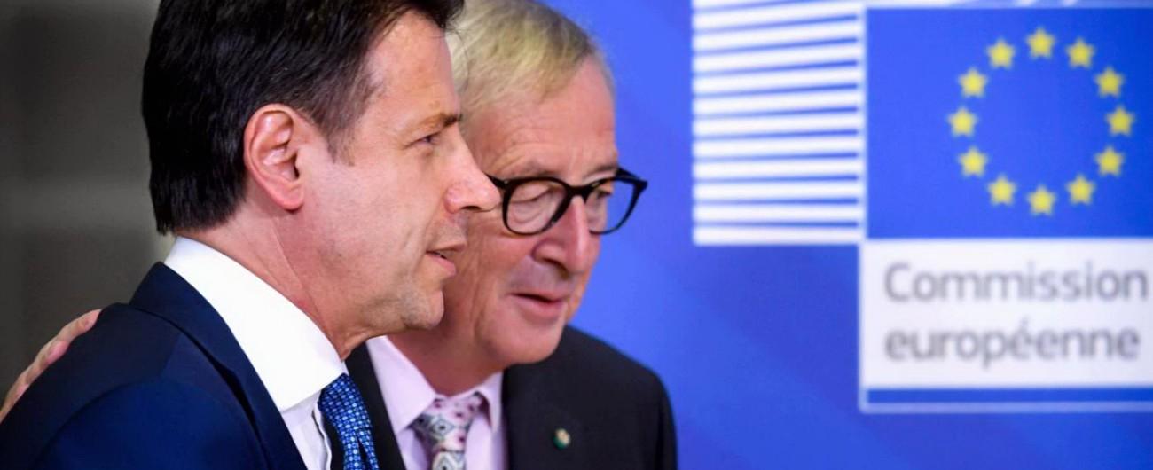 Manovra, trattativa a cena tra Italia e Ue. Juncker chiede 0.4% di deficit in meno Conte gli offre 4 miliardi per la crescita