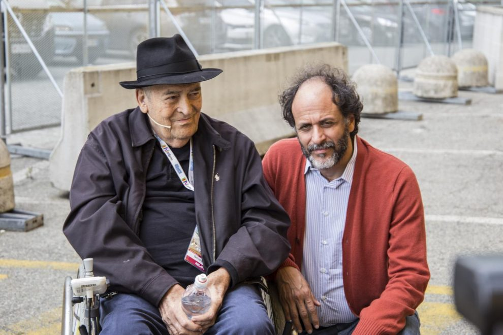Con Luca Guadagnino