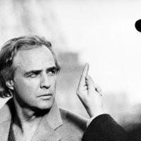 Con Marlon Brando