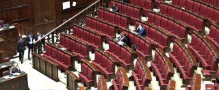 """Dl Sicurezza, la Lega lo discute da sola: aula deserta. Magi (+Europa): """"Scambio con Anticorruzione, imbarazzo M5s"""". Vuoti anche i banchi Pd"""