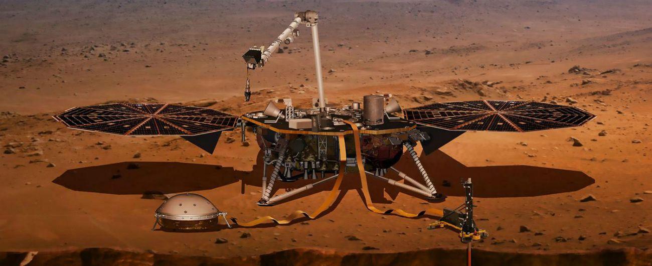 Marte, la sonda InSight arriva sul pianeta Rosso: atterraggio avvenuto con successo