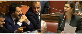 """Dl Sicurezza, Boldrini a Salvini: """"A che punto sono accordi coi Paesi africani per i rimpatri? Lei torna sempre a mani vuote"""""""
