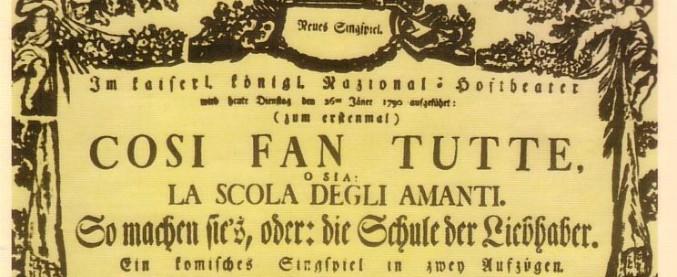 """Ascoli, """"Così fan tutte"""" di Mozart vietato agli alunni: per i professori è 'troppo osé'"""