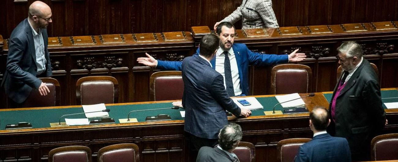 """Decreto Sicurezza, fiducia ok alla Camera: 336 sì e zero dissidenti. Festa della Lega: """"Votiamo con rabbia ed orgoglio"""""""