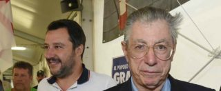 Lega, Salvini non querela i Bossi. Denunciato soltanto Belsito. Così il Carroccio ha graziato il fondatore