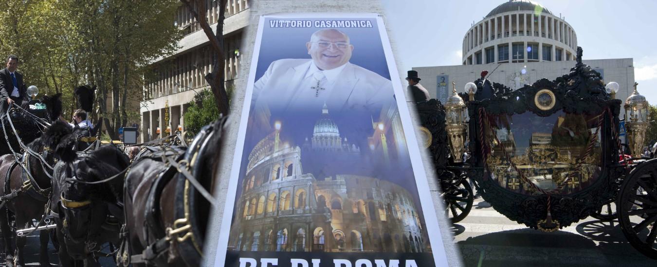 Casamonica, interdittiva antimafia per l'azienda che si occupò del funerale-show