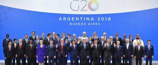 G20 Buenos Aires, tra tensioni su dazi e crisi Russia-Ucraina: Usa pronti a sfilarsi