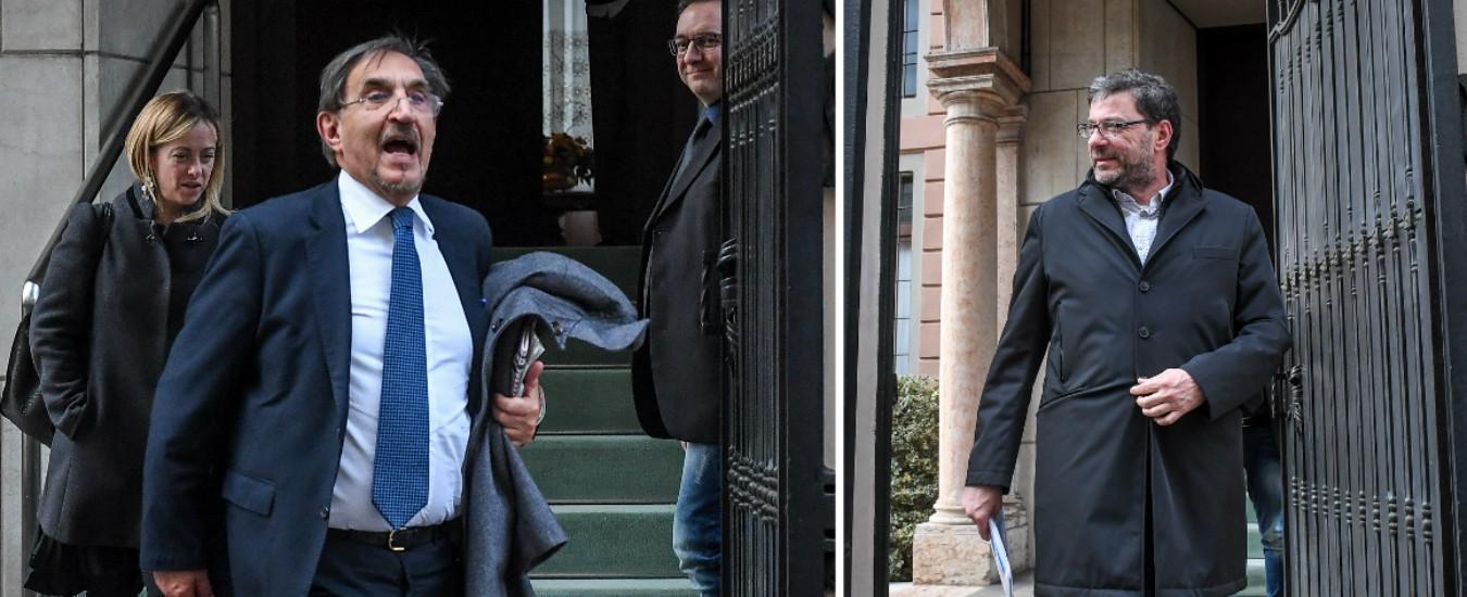 """Salvini diserta il vertice con Berlusconi e Meloni: """"Voleva restasse segreto"""""""