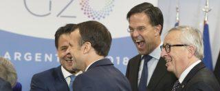 """Manovra, Conte: """"Interlocuzioni in corso, passi avanti a ogni incontro. L'Ue non è altro da Italia, siamo sulla stessa barca"""""""