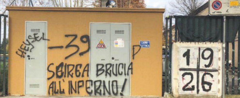 Fuori dallo stadio Franchi ancora insulti a Scirea e alle vittime dell'Heysel