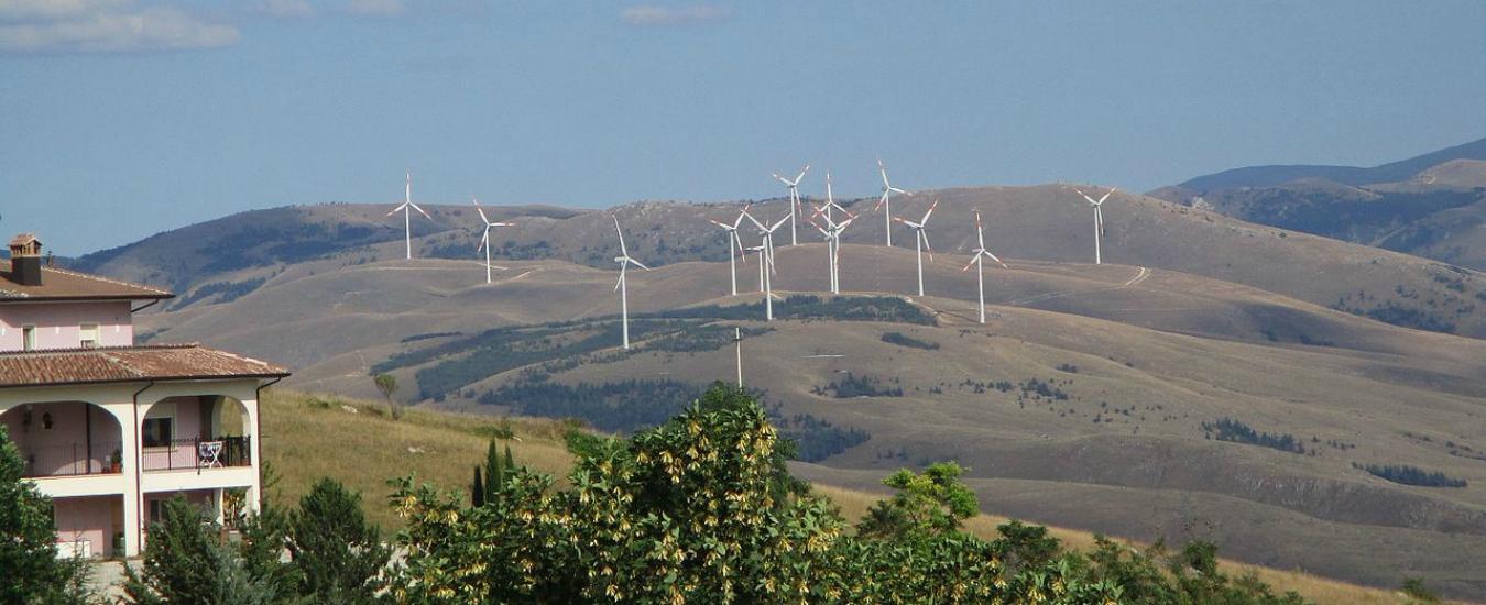 Basilicata, nasce un nuovo impianto eolico. Ancora più energia, sempre meno paesaggio