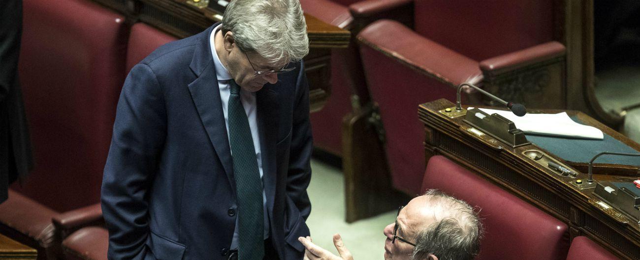 """Global compact, Gentiloni: """"Un asse Pd-M5s contro la Lega? Sì e ce lo auguriamo, ma dl Sicurezza racconta storia opposta"""""""