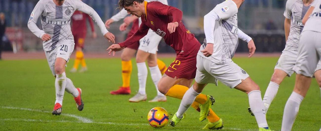 Zaniolo Roma Inter