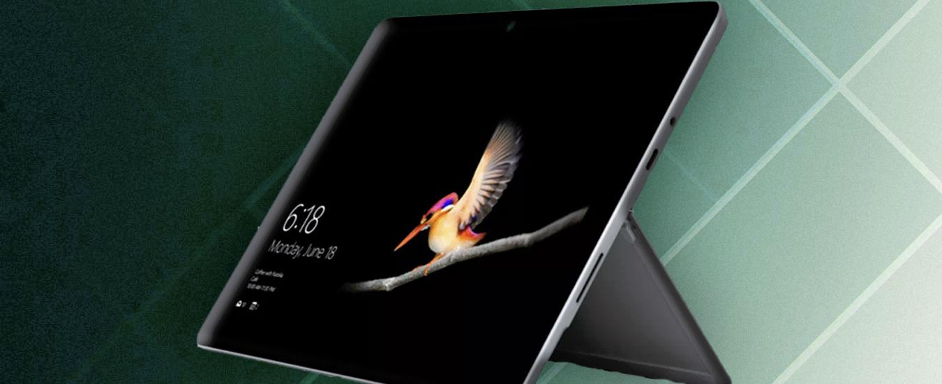 Microsoft Surface Go, notebook e tablet di qualità a un prezzo ragionevole
