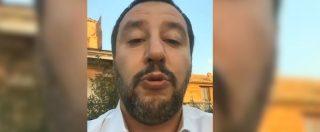 """Salvini risponde a Spataro: """"Il suo è attacco politico, si candidi. Non mi si dica che metto a rischio operazioni di polizia"""""""