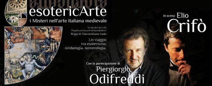 EsotericArte, ho apprezzato lo spettacolo ma non il discorso finale di Odifreddi su Dante
