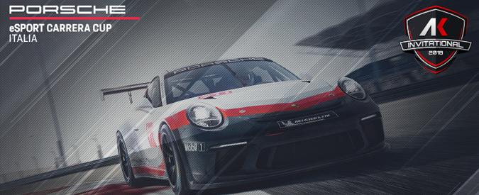 Al via l'AK Invitational-Porsche eSport Carrera Cup Italia, un torneo su Assetto Corsa con 10mila euro di montepremi