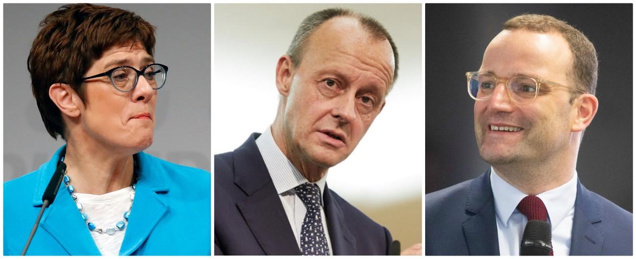 Germania, oggi la Cdu elegge l'erede della Merkel: Merz è favorito su AKK e Spahn. In ballo anche il futuro volto dell'Unione
