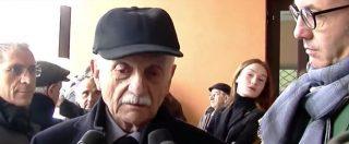 """Trattativa, il generale Mario Mori: """"Mi curo di vivere a lungo perché devo vedere morire qualcuno dei miei nemici"""""""
