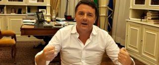 """Pd, Renzi: """"Non lavoro io alla scissione. Ne abbiamo già viste abbastanza"""""""