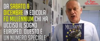 """Fq Millennium, Peter Gomez presenta il numero di dicembre: """"Juncker e il sistema che ci ruba ogni anno mille miliardi"""""""
