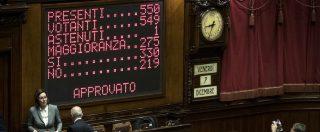Manovra, ok della Camera con 312 sì. Lunedì va al Senato: attese le modifiche per cercare intesa con la Ue