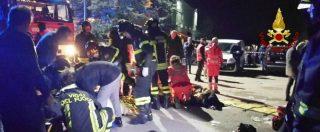 Ancona, le immagini dei soccorsi dopo la tragedia Corinaldo. 6 morti e decine di feriti nella calca del concerto