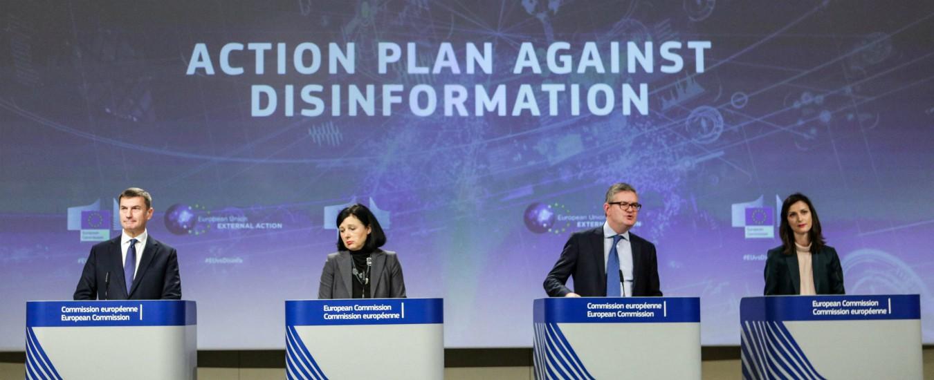 """Fake news, Ue lancia piano per fermarle: """"Russia prima fonte, spende un miliardo"""""""