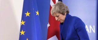 Brexit, Parlamento boccia l'accordo: May sconfitta con 432 voti contro 202. Juncker: 'Aumenta rischio di no deal, tempo finito'