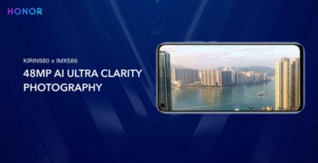 Honor View 20 arriverà a gennaio con fotocamera da 48 megapi