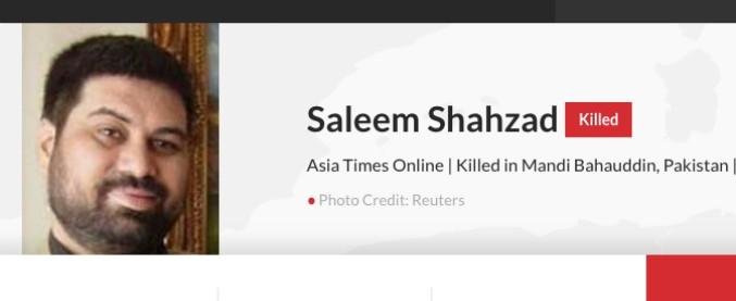 """Saleem, il giornalista pakistano torturato e ucciso nel 2011 per le sue inchieste: """"Su questa vicenda è calato il silenzio"""""""