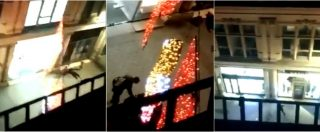 Attentato Strasburgo, spari al mercatino di Natale: le urla di terrore e i feriti a terra. Il video ripreso da una finestra