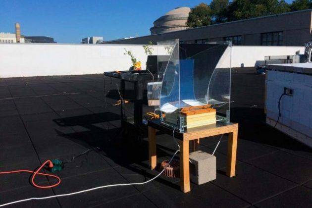 Basta l'energia solare per convertire l'acqua in vapore ad a