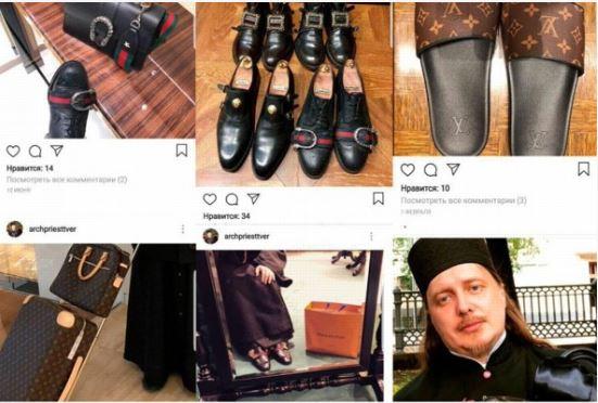Prete appassionato di Gucci e Louis Vuitton finisce nei guai