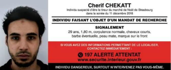 Strasburgo, chi è Cherif Chekatt: il killer con 27 condanne in 3 Paesi diversi. Ma è riuscito a sfuggire alle forze dell'ordine