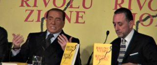 """Manovra, Berlusconi: """"Deficit al 2.04%? Marcia indietro, una buffonata. Cambiare questo governo di incapaci"""""""