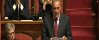 """Ddl Anticorruzione, Grasso attacca il M5s: """"State tradendo voi stessi. Ogni voto segreto vi terrorizza, quanto potete durare?"""""""