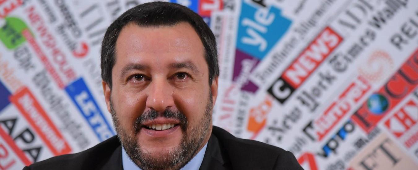 83be9be15a Salvini contro Famiglia Cristiana: 'Attacchi e bugie, è giornale di  ultrasinistra'.