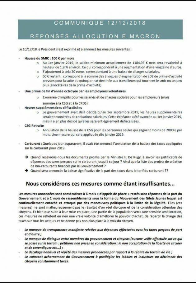 Gilet gialli, le 4 richieste a Macron: referendum popolari,