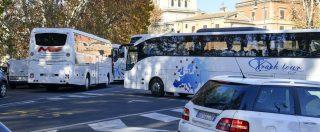 Roma, dal 1° gennaio al massimo 60 bus turisticiin centro al giorno e maxi-tariffe Albergatori: 'Licenzieremo 2.500 persone'