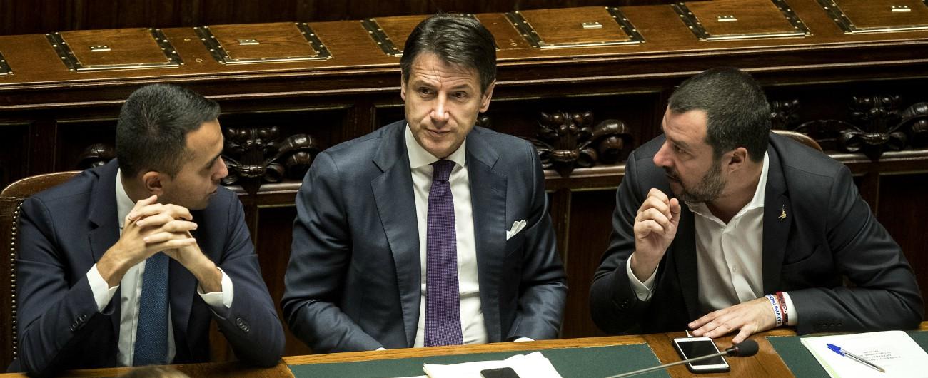 """Governo, due ore di vertice Conte-Di Maio-Salvini. Il leader del M5s: """"La priorità adesso è abbassare le tasse"""""""